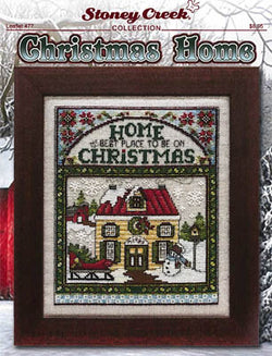 Stoney Creek Christmas Home, LFT477 Christmas cross stitch pattern
