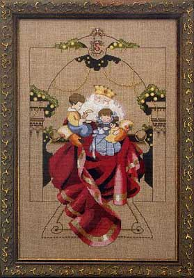 Mirabilia Christmas Wishes Nora Corbett MD-61 cross stitch pattern