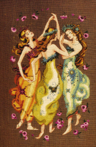Mirabilia Circle of Friends MD-101 Nora Corbett cross stitch pattern
