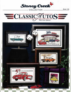Stoney Creek Classic Autos BK165 cross stitch pattern