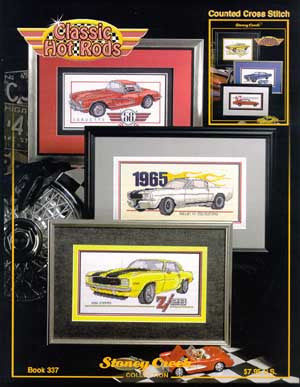 Stoney Creek Classic Hot Rods BK337 cross stitch pattern