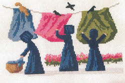 Clothes Line Critters pattern