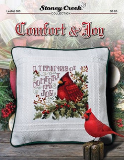 Stoney Creek Comfort &  Joy christmas cross stitch booklet