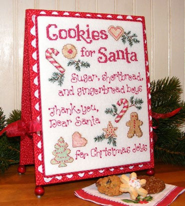 Sue Hillis Cookies for Santa Christmas L424 cross stitch pattern