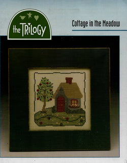 The Triology Cottage in the Meadow cross stitch pattern