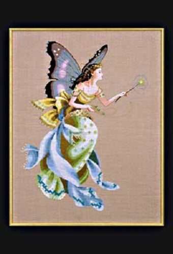 Mirabilia The Cottage Garden Fairy MD-63 victorian cross stitch