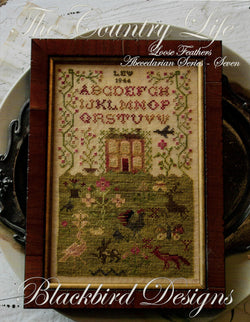 Blackbird The Country Life cross stitch pattern