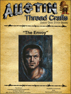 The Envoy by Christy Harris cross stitch pattern
