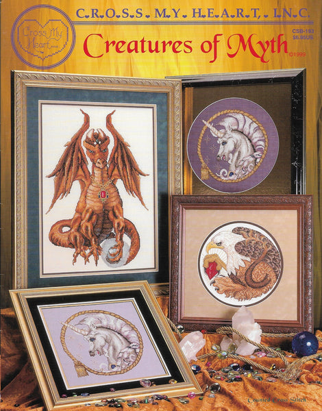 Cross My Heart Creatures of Myth CSB-193 mythical cross stitch pattern