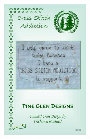 Pine Glen Designs Cross Stitch Addiction cross stitch pattern