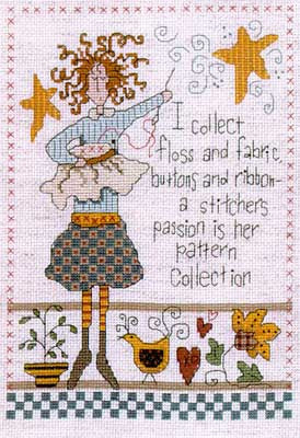 Imaginating Cross Stitch Collector cross stitch pattern