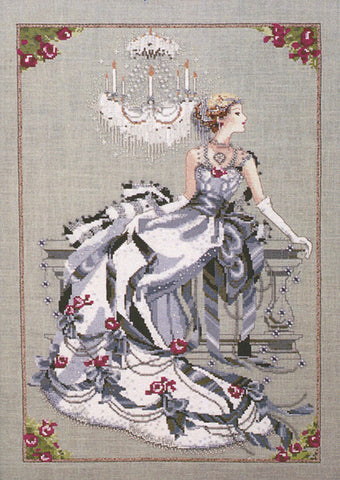 Mirabilia Crystal Symphony Nora Corbett MD-94 cross stitch pattern