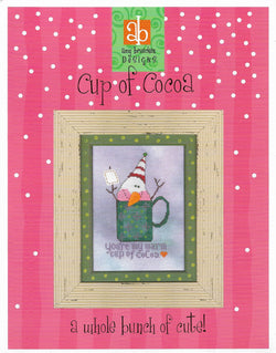 Amy Bruecken Cup of Cocoa Christmas cross stitch pattern