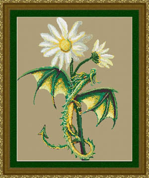 Daisy Dragon pattern