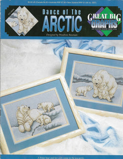 Great Big Graphics Dance of the Artic cross stitch pattern