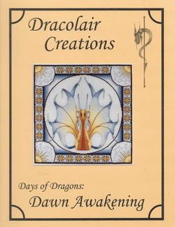 Dracolair Creations Days of Dragons: Dawn Awakening cross stitch pattern