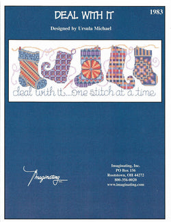 Imaginating Deal with it 1983 OOP cross stitch pattern