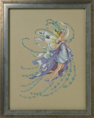 Mirabilia December Blue Topaz MD-162 victorian cross stitch