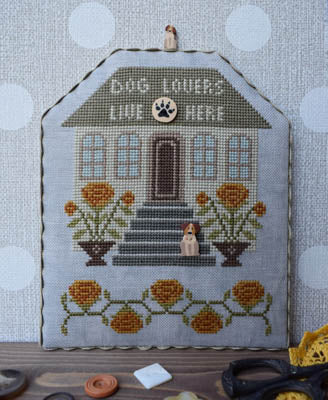 Puntinipuntini Dog Lovers cross stitch pattern