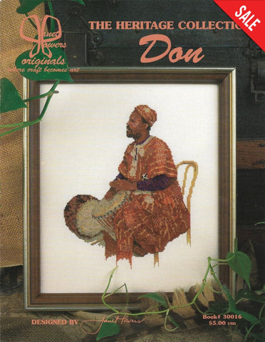 Jeanette Crews Don African Heritage Collection 30016 Cross stitch pattern