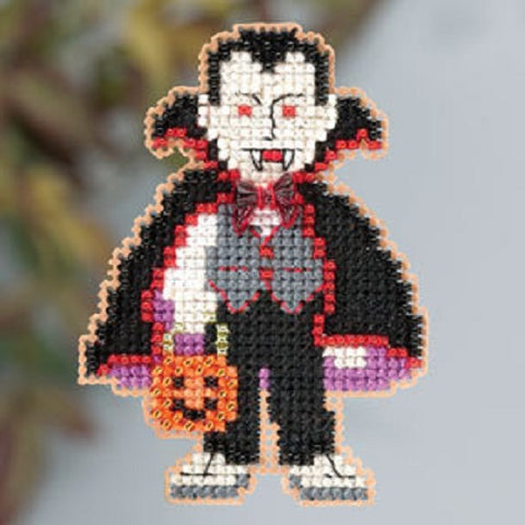 Mill Hill Dracula beaded cross stitch kit MH18-3204