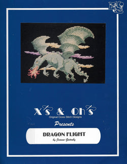X's & Oh's Dragon Flight cross stitch pattern