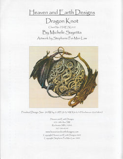 Heaven and Earth Designs Dragon Knot Stephanie Pui-Mun Law cross stitch pattern