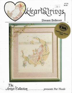Heartstrings Dream Believer cross stitch pattern