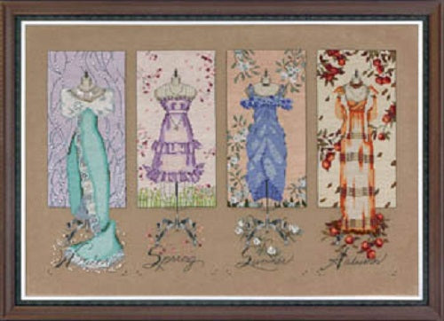Mirabilia Dressmaker's Daughter MD-121 victorian cross stitch