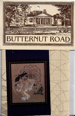 Butternut Road Earthdancer Native American cross stitch pattern