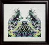 Mirabilia Echo Lake MD174 mermaid cross stitch pattern