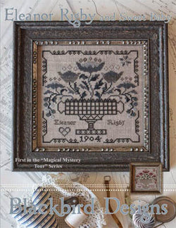 Blackbird Designs Eleanor Rigby and Sweet Baby Beatles Magical Mystery tour cross stitch pattern