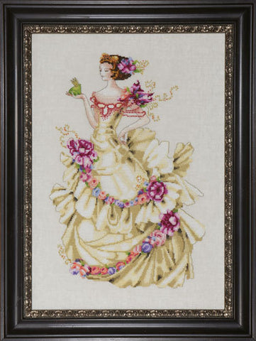 Mirabilia Ella the Frog Princess Nora Corbett MD-129 cross stitch pattern