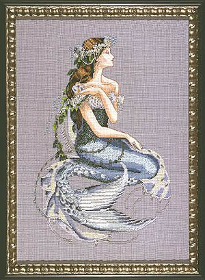 Mirabilia Enchanted Mermaid Nora Corbett MD84 cross stitch pattern