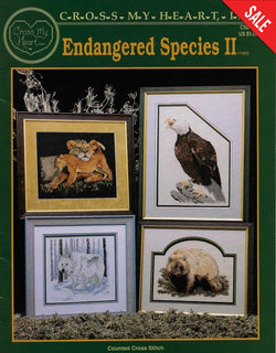 Cross My Heart Endangered Species II animal cross stitch pattern