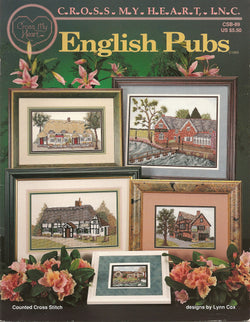 Cross My Heart English Pubs cross stitch patterns booklet
