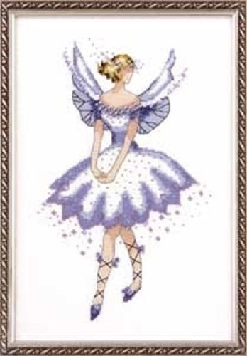 Mirabilia Evening Primrose NC164 Pixie Couture victorian cross stitch