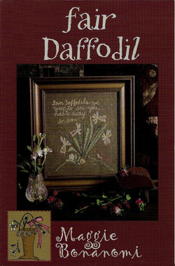 Blackbird Designs Fair Daffodil cross stitch pattern