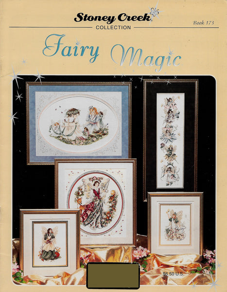 Stoney Creek Fairy Magic BK173 coss stitch pattern