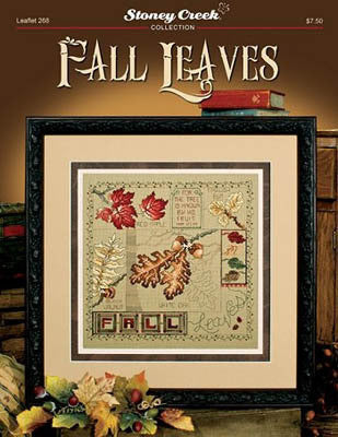 Stoney Creek Fall Leaves LFT268 cross stitch pattern