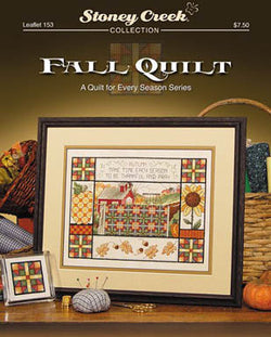 Stoney Creek Fall Quilt LFT153 cross stitch pattern