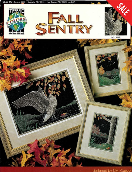 True Colors Fall Scentry cross stitch pattern