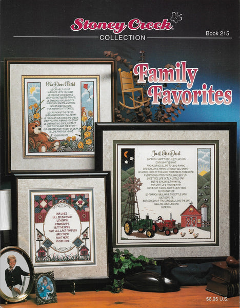 Stoney Creek Family Favorites BK215 cross stitch pattern