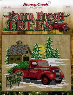 Stoney Creek Farm Fresh Trees LFT460 cross stitch pattern