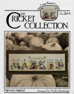 Cricket Collection Famer's Market cross stitch pattern