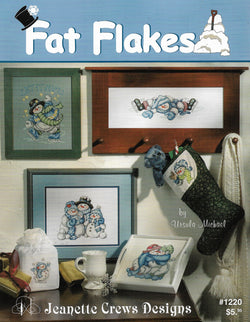 Jeanette Crews fat Flakes snowman pattern