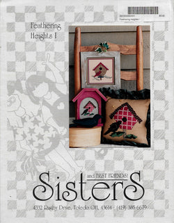 Sisters and Best Friends Feathering Heights I bird cross stitch pattern