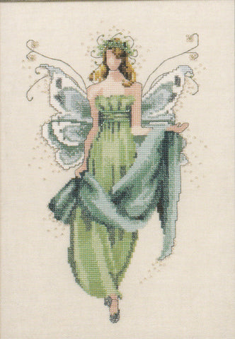 Mirabilia Fern NC107 victorian pixie couture cross stitch