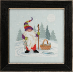 Mill Hill Fishing Gnome MH17-2013 beaded cross stitch kit