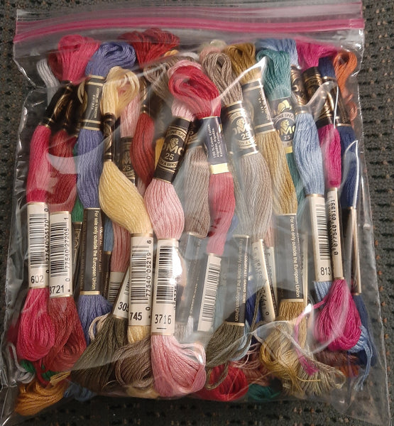 DMC Floss out of production skeins